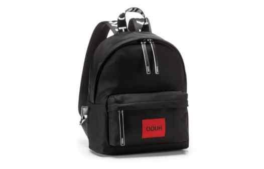 Mochila Hugo Preta / Hugo Black Backpack